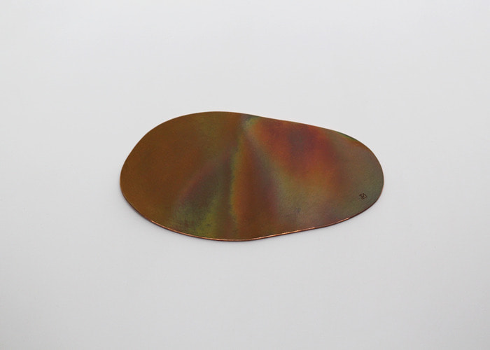 ABSTRACT FLAT COASTER 2. COPPER